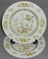 Set (2) Royal Doulton TONKIN PATTERN Salad Plates MADE IN ENGLAND