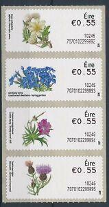 [340601] Ireland flora good set very fine MNH postage labels