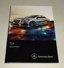 Owner ´S Manual / Manual Mercedes-Benz Cla Tipo C 117 desde 05/2013