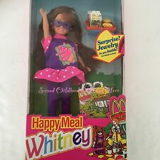 1993 NIB Barbie MCDONALDS HAPPY MEAL WHITNEY Friend of Stacie Redhead Girl Doll