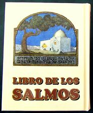 SALMOS Holy Bible Psalms TEHILIM in Hebrew-Spanish Hebreo Español Judaica