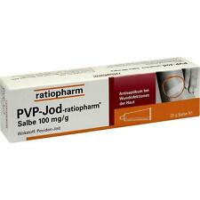 PVP IODIO ratiopharm Balsamo 25 g PZN7260425