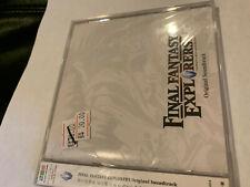 FINAL FANTASY EXPLORERS GAME JAPAN ANIME CD OST SOUNDTRACK AUTHENTIC