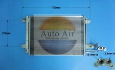 Fit with AUDI A3 Condenser air conditioning 16-1054 1.2L