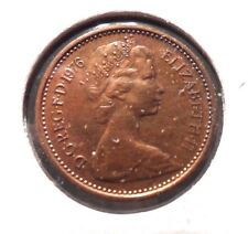 CIRCULATED 1976 1/2 NEW PENNY UK COIN! (#41615)