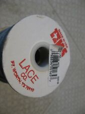 """Leather Suede Lace 1/8"""" x 25 yds roll Tandy Tejas New Leather Lacing White Color"""