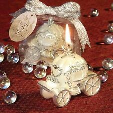 Cinderella carriage Candle Favour