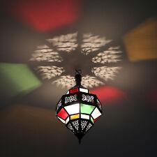 Oriental Lantern Lamp Moroccan Pendant Lamp Hanging Lantern-Salma-Multi