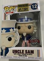 Funko Pop! Icons American History Uncle Sam Special Edition Vinyl Figure #12