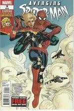 Avenging Spider-Man #9 1st Appearance Carol Danvers as Captain Marvel 2012