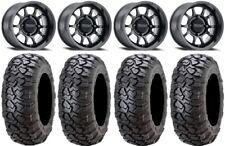 "New listing Method 409 15"" Black (4+3) Wheels 31"" Ultracross Tires Can-Am Maverick X3"