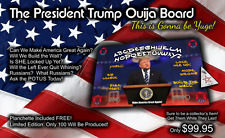 Donald Trump Ouija Board - LIMITED EDITION by OccultBoards - FREE SHIPPING