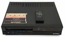 Sharp VC-781 Video Kassette Recorder VHS Pal 220v Euro Stecker -parts Reparatur