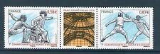 PAIRE TIMBRE 4510-4511 NEUF XX - CHAMPIONNATS DU MONDE D'ESCRIME 2010 A PARIS