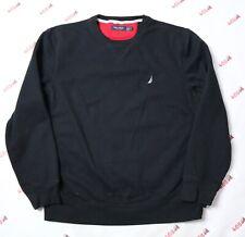 Nautica Sweater Adult Large Black Pullover