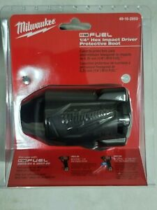 Milwaukee M18 1/4 Hex Impact Wrench Boot/Cover for 2853-20 / 2857-20 #49-16-2853