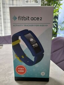 Fitbit Ace 2 Kids Activity Tracker, One Size -  Night Sky/ Neon Yellow
