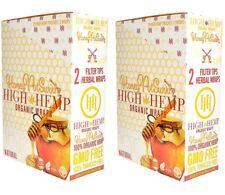 High Hemp Honey Pot Swirl Organic Wraps 2 Box 50 Pouch (100 Wraps) NON GMO
