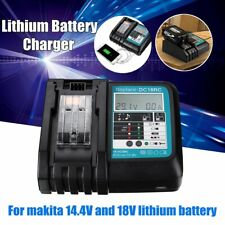14.4/18V Replacement Power Kit Li-ion Battery Charger For Makita DC18RC