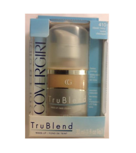CoverGirl TRUBLEND  Make-Up Liquid Foundation 410 Classic Ivory in a Pump Bottle