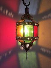 Lustre plafonnier marocain fer forgé lampe applique lanterne orient suspension c