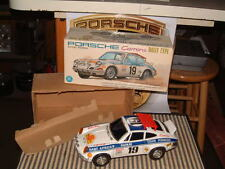ALPS TIN, B/O PORSCHE 1974 911RS EAST AFRICAN SAFARI PERFECTLY WORKING W/BOX!!