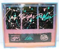 Marc Ashmore Abstract Original Mixed Media CollageSigned 1980's New York City