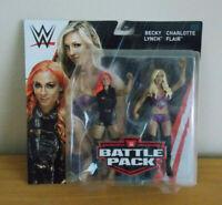 WWE Battle Pack- Becky Lynch & Charolotte Flair Series 55 Wrestling Mattel NEW