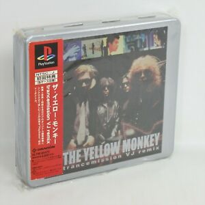 THE YELLOW MONKEY Trancemission VJ Remix Unused PS1 Playstation JP System 758 p1