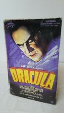 BOX & ACCESSORIES ONLY Sideshow Toy Universal Studios Monsters Dracula NO Figure