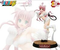 USED To Love-Ru Lala Animal Cafe ver. Limited Edition 1/8 PVC Figure Shueisha