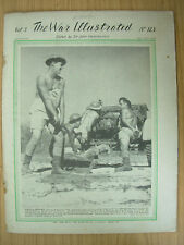WAR ILLUSTRATED MAG No 123 MARCH 10th 1942 AUSSIE TROOPS PREPARE IN DARWIN