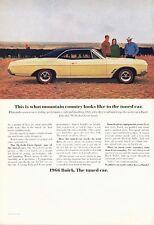 1966 Buick PRINT AD features Skylark Gran Sport GS 325 HP Wildcat Motor 2 door