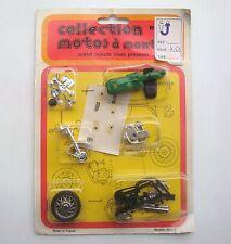 Jouet ancien Miniature moto de collection  à monter métal injecté en blister n°2