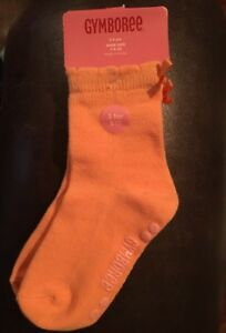 NWT Vintage Gymboree Girls Socks Size 3-4 yrs Shoe 9-10 New York Girl Pink