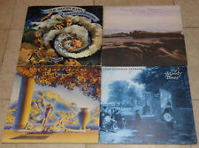THE MOODY BLUES lp LOT OF 4  * PROGRESSIVE  ROCK ORIGINALS