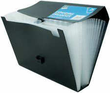 Expanding File Organiser A4 Foolscap 26 POCKETS Filing Folder School Document