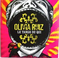 """OLIVIA RUIZ - CD SINGLE PROMO """"LE TANGO DU QUI"""" - COMME NEUF"""