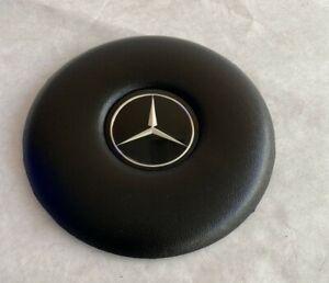 steering wheel horn emblem horn pad Black FIT Mercedes 108 109 111 113 114 115