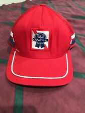 PABST BEER x O'NEILL COLLABORATION SNAPBACK TRUCKER Mesh HAT Red
