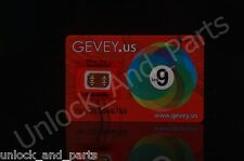 Gevey Unlock Sim Karte für iPhone 4s 5 5c 5s 6 6+ 6s 6s + bis iOS 9.1