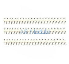 10PCS White 40Pin 1x40P Male Breakable Pin Header Strip Connector Row 2.54mm AM