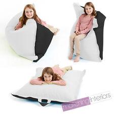 Black White Bean Bag Slab Large Children's Kids Beanbag Cushion Splashproof Seat