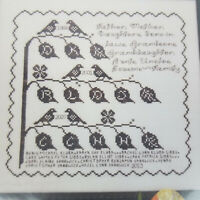 Rosewood Manor Branches of Life Cross Stitch Pattern Chart Family Tree S-1224