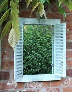 Garden Ornament Antique Grey Garden Arch Mirror Home Decoration Outdoor Indoor