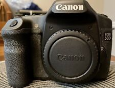 Canon EOS 50D 15.1 MP Digital SLR Camera - Black (Body Only) DS126211