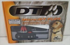 DT Systems Micro-iDT Plus Remote Dog Shock Training Collar