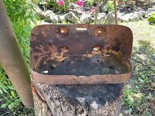 WW2 Original US Army MB For GPW Jeep Jerry Can Holder, From Battle Of Kurland