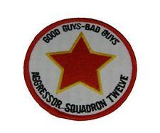 USN NAVY RESERVE AGGRESSOR SQUADRON TWELVE VFC 12 GOOD GUYS BAD GUYS PATCH