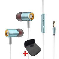 Mega bajo pro HQ Auricular In-Ear Earphone S4HS Auriculares para Samsung Lg